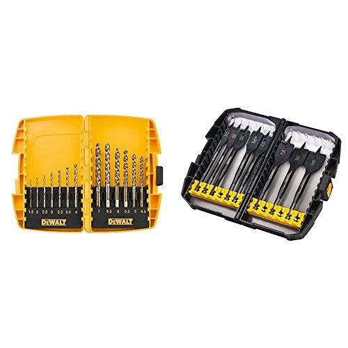 DeWalt DT7920B Extreme Drill Bit Set (13 Pieces)DeWalt DT7943B-QZ Extreme Flatbit Tough Case Set