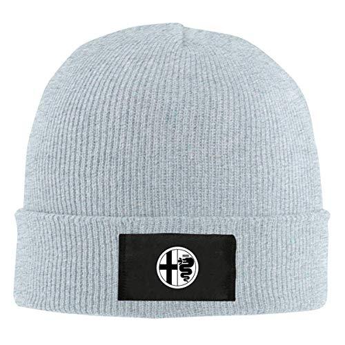 Tengyuntong Herren Damen Baseball Caps,Hüte, Classic Mützen, Alfa-Romeo Unisex Adult Warm Hat Strick Mütze Skull Cap