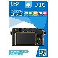 JJC lcp-lx100ウルトラハードポリカーボネートLCD Filmスクリーンプロテクターfor Panasonic (クリア)