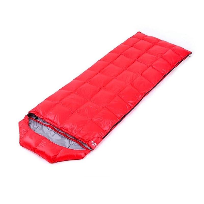 請う相続人つらい寝袋 バッグに最適キャリングバッグスリーピング大人の特大暖かい光ステッチエンベロープ寝袋100%防水コンプレッション アウトドア軽量大人寝袋 (Color : Lake blue, Size : 205x73cm)