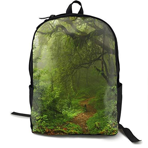 Forest Landscape Nature - Mochila antirrobo para portátil