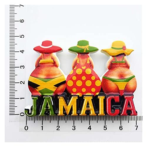 YSJJWDV Imanes para Nevera Refrigerador imán magnético abrelatas del refrigerador del refrigerador del refrigerador del refrigerador (Farbe : Jamaica)