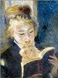 Poster 50 x 70 cm: Lesendes Mädchen von Pierre-Auguste