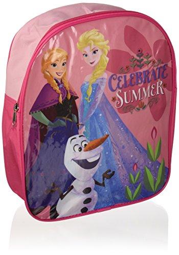 Disney Elsa Anna Olaf Sac à dos officiel sous licence Rose