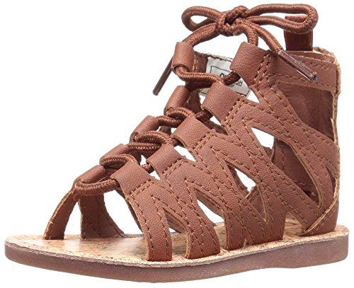 Brown OshKosh B'Gosh Priya Girl's Gladiator Sandal