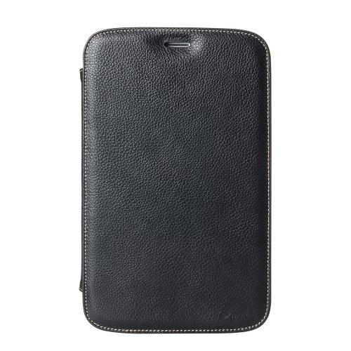 Melkco Premiume Leather cases for Samsung Tab 3 8.0' P8220 - Kios Type (Black LC)
