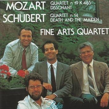 "Mozart: Quartet No. 19, K. 465 ""Dissonant"" & Schubert: Quartet No. 14, D. 810 ""Death and the Maiden"""