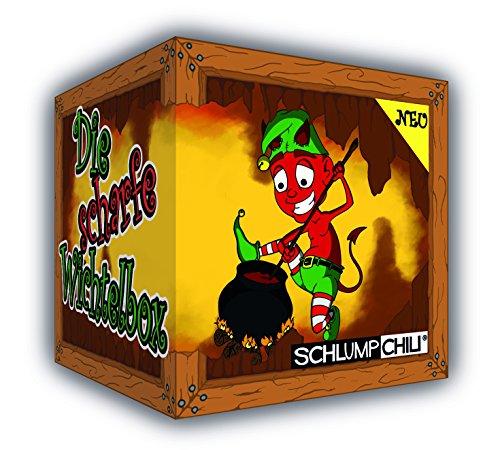 """Wichtelgeschenk Schlump-Chili """"Die scharfe Wichtelbox"""" inkl. Aua Aua Paste - limitierte Sonderedition"""