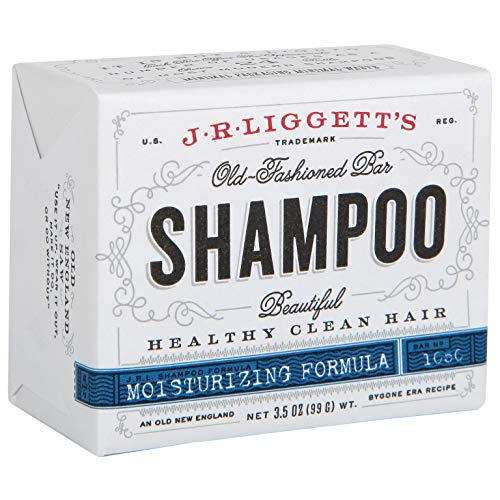 JRLIGGETT'S All-Natural Shampoo Bar, Moisturizing Formula - Supports Strong and Healthy Hair - Nourish Follicles with Antioxidants and Vitamins - Detergent and Sulfate-Free, One 3.5 Ounce Bar