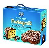 Colomba De Chocolate Melegatti, Sin Frutas Confitadas, Con Chips De Chocolate Amargo, Glasé De Cacao, Almendras Y Granillo De Azúcar, 750gr