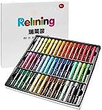 Soft Oil Pastellkreide, 48 Stück, verschiedene Farben, ungiftig, für Künstler und Profis