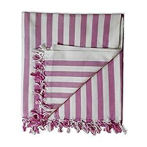 Riyashree Organic Cotton Silky Soft Bhagalpuri Dull chadar Blanket for All Season Queen Size ( 53 * 96 in ) RiBCoDull 15