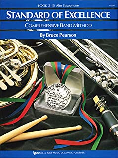 Standard of Excellence: Comprehensive Band Method: Eb Alto Saxophone Book 2