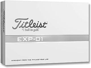 Titleist EXP.01 Golf Balls Straight from The R&D Lab 1 Dozen