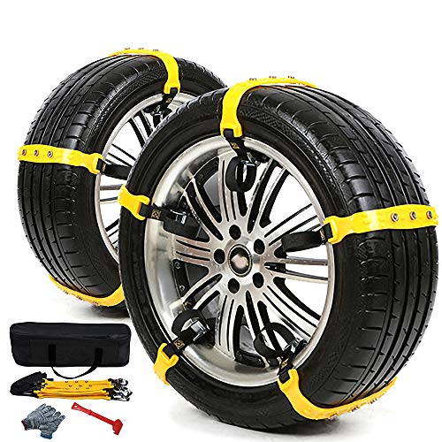 Husky Sumex Winter Classic Alloy Steel Snow Chains for 15 Car Wheel Tyres 195//65 R15