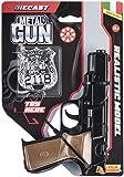 Villa Giocattoli-61250 Pistola in Metallo Panther Try Me, Colore Nero, 61250