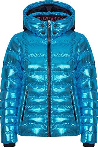Sportalm W Ski Jacket 2 Blau, Damen Isolationsjacke, Größe 40 - Farbe Vivid Blue