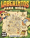 Laberintos Para Niños: Cuaderno de Laberintos para Niños 4 - 8 años | Pasatiempos para Niños | Juegos Educativos | Libro Actividades Niños 5-6 años | 100 páginas de Laberintos para niños y niñas.