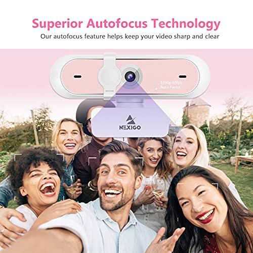 NexiGo N660P - Webcam Pink - Autofokus