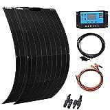 XINPUGUANG 2pcs 100W Flexible Solar Panel 12V 200W Solar Kit Monoctrystalline...