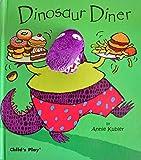 Dinosaur Diner [With Dinosaur Finger Puppet] (Book & Fabric Finger Puppet) (Finger Puppet Books)