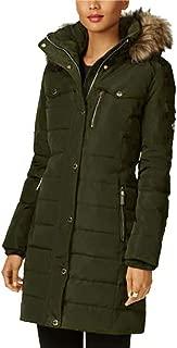 Michael Kors Women's Down Coat with Zip Out Fur Hood