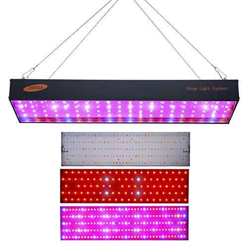 Decdeal Lámpara de Plantas,Lámpara de Crecimiento, 1000W LED Cultivo Luz de Plantas Luz para Invernadero,Hidropónico Planta de Interior Flor de Crecimiento Vegetativo