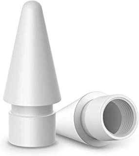 Diagtree Pencil Replacement Tips Compatible for Apple Pencil 1st & 2nd Generation for IPad Mini, iPad Pro (White)