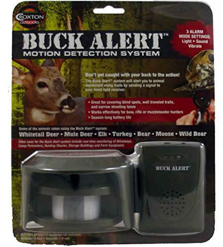 Hunting Gear Brands - Other Buck Alert Motion Detector Set System, Multi, One Size (9090)