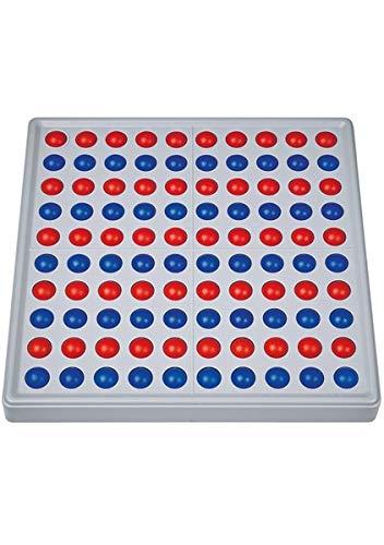 SCHUBI Abaco 100: Abaco 100, rot / blau, Reihen - Mathematik Rechnen Lernen Zahlen Schule Kinder Schüler Unterricht Lehrmittel trainieren üben Übungen Rechenaufgaben Mathematikaufgaben