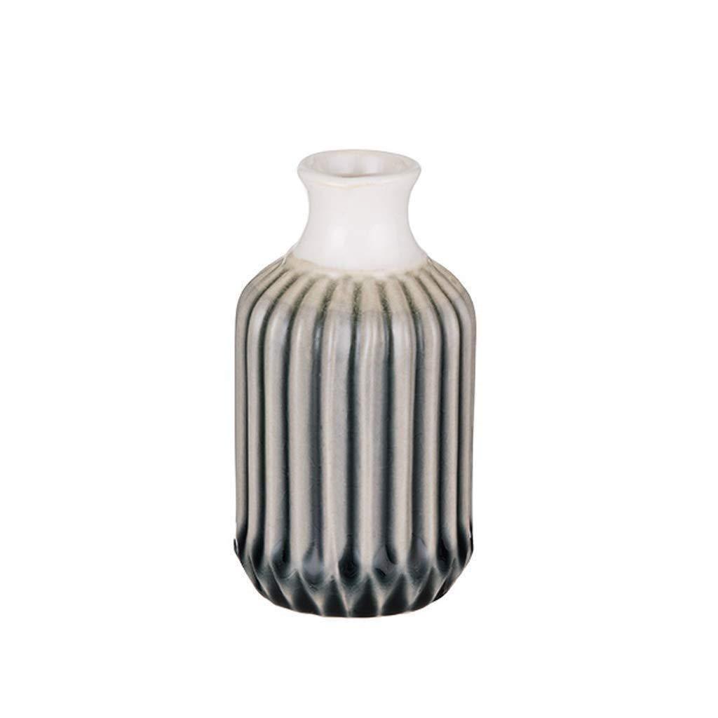 Black Velvet Studio Vase Glam Verre Color Vert et Or Style Nordique 10x10x10 cm.