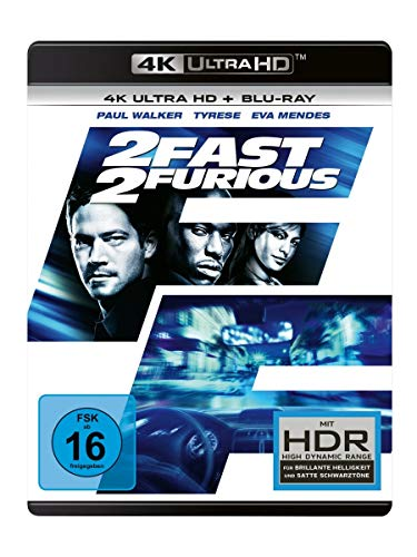 2 Fast 2 Furious (4K Ultra HD) (+ Blu-ray 2D)