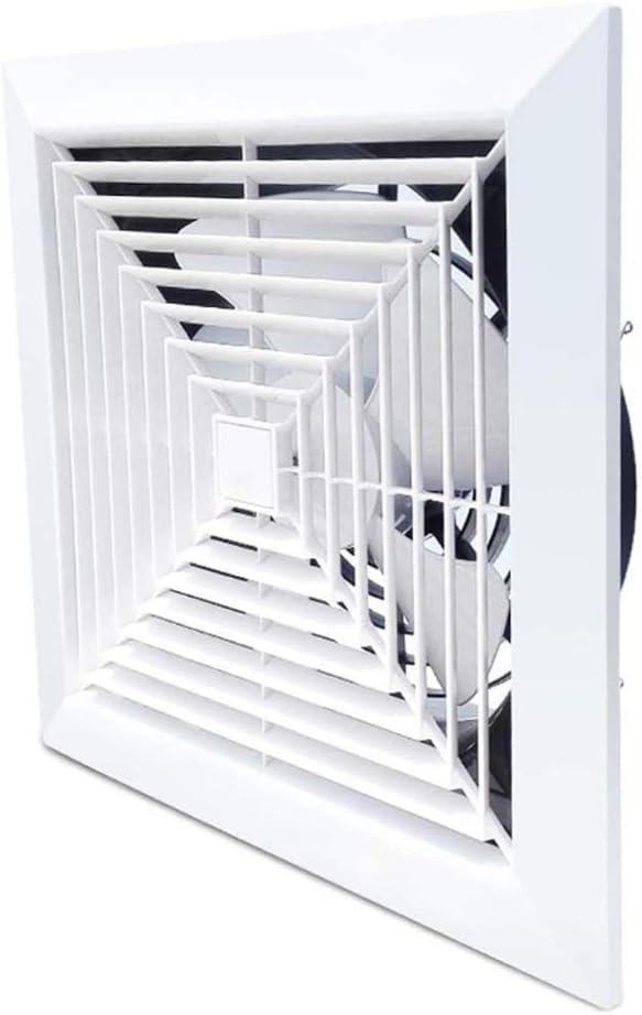 JHYS Ventilador Extractor de Pared, Ventilador de Refuerzo de Metal Extractor Ventilador de Escape Ventilación de Entrada Ventilador de Tubo de Ventana para baño Inodoro Cocina Oficina en casa