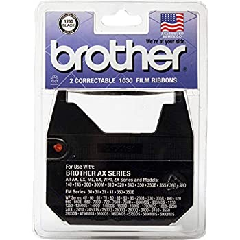 3 X Brother 1230 Correctable Ribbon for Daisy Wheel Typewriter  2 Pack