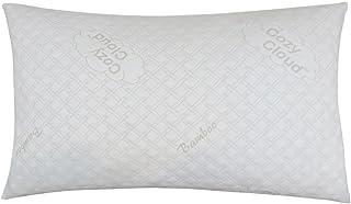 CozyCloud Deluxe Hypoallergenic Bamboo Shredded Memory Foam King Size - Softer Pillow