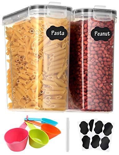 Aitsite Recipientes para Cereales Juego de 2 (6.3L) Botes Cocina Tarro de...