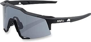 100% Unisex-Adult Speedlab (61001-100-57) Speedcraft-Soft Tact Black-Smoke Lens, Free Size)