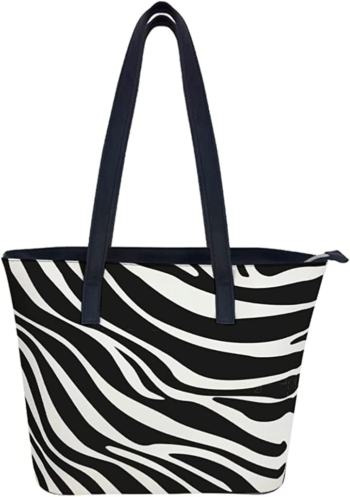 Financial sales sale Halloween Zebra leopard Tote Directly managed store Bags Women Satchel Leather Soft for