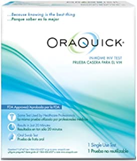 PACK OF 3 ORAQUICK HIV TEST