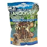 Arquivet Twist con Conejo Enrollado 13 cm - 1kg - Natural Dog Snacks - Snacks Perros - 100% Natural - chuches Perros - premios Perros - golosinas Perros - Snacks Naturales - Producto Light
