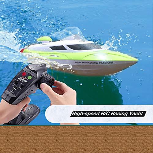 Meiniuniu 2.4G Control Remoto 35 km 180 ° Flip/H Alta Velocidad eléctrico RC Barco para niños/Adultos Piscina
