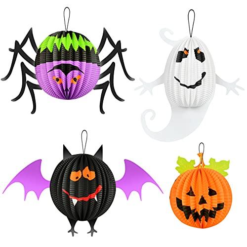 Halloween Carta Lanterne Decorative, Lanterne di Carta, Decorazioni di Halloween, Lanterna di Halloween per Halloween, Decorazione per interni da interni