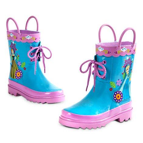 Disney La Reine des Neiges - Bottes de pluie La Reine des neiges pour enfants. taille UK 1 ---- EU 33