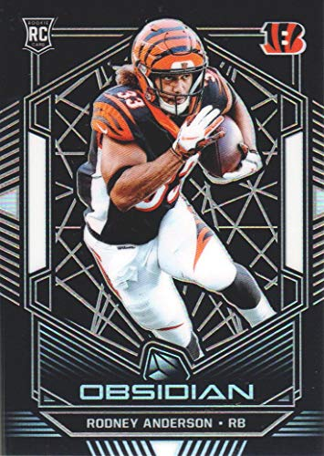 2019 Panini Obsidian Football #191 Rodney Anderson RC /125