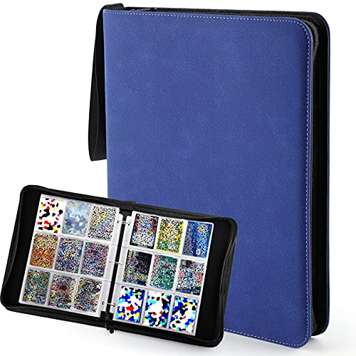 Trading Card Folder Binder for 720 Trading Cards Compatible with Pokemo...