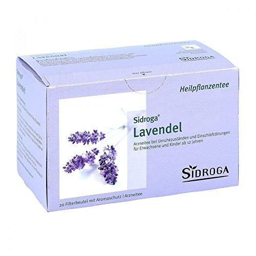 Sidroga Lavendeltee – 20 Filterbeutel