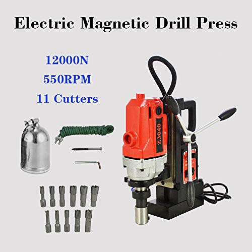 Why Choose 110V MD40 11pcs Magnetic Drill Presses Drills 1 HSS Cutter Set Annular Cutter Kit