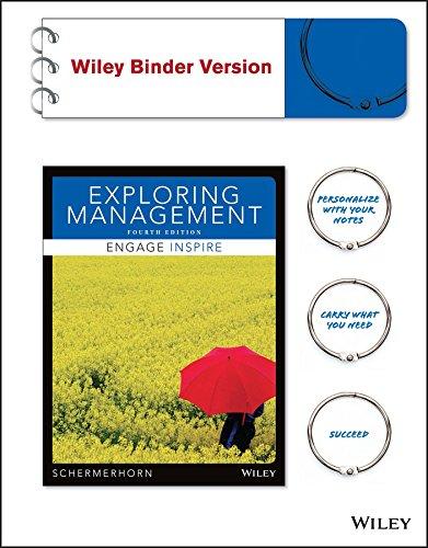 Exploring Management, Binder Ready Version