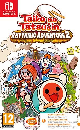 Taiko No Tatsujin Rhythmic Adventure 2 Nintendo Switch Game [Code in a Box]