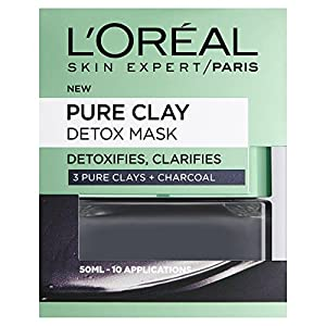 L'Oreal Paris Pure Clay Black Detox Face Mask